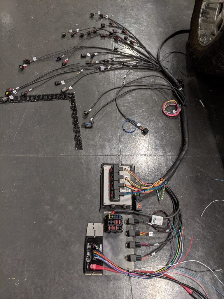 Electrical Panel and Harness